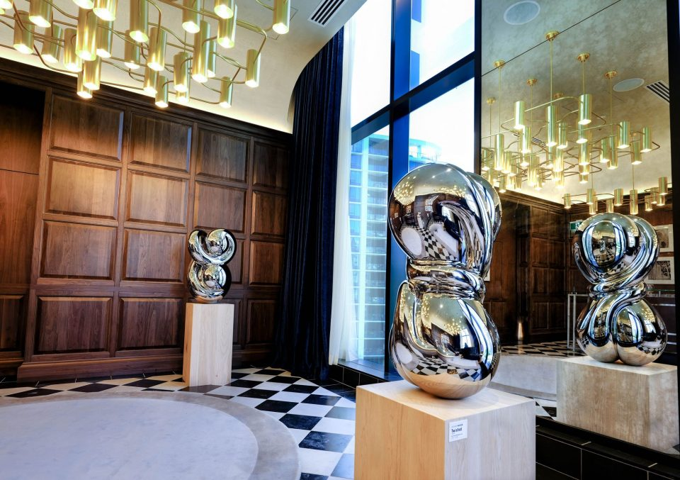 Parq Vancouver art inside