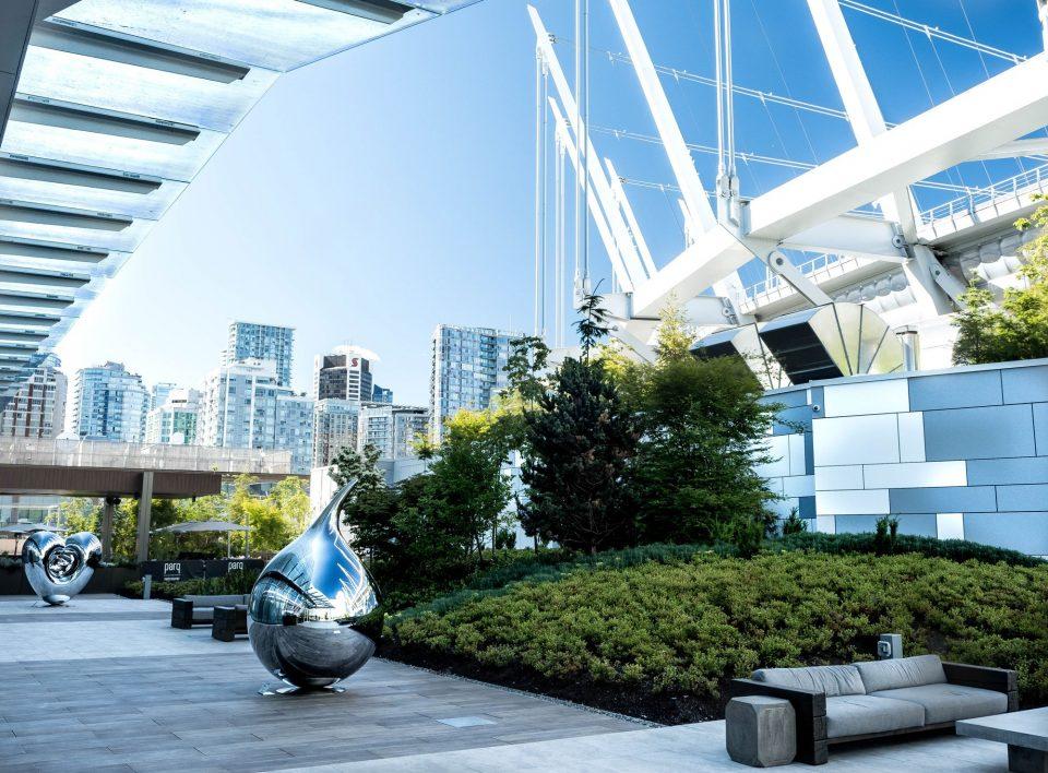 Parq Vancouver art outdoor