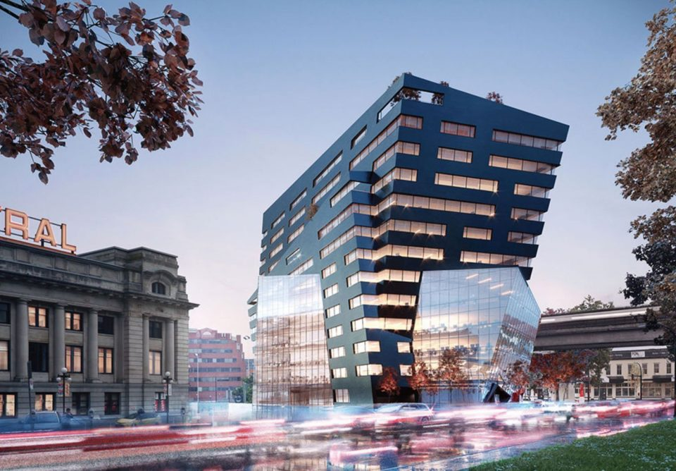 Rize reveals The Onyx: New 13-storey office building on Terminal Ave.