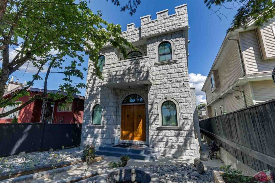 East Vancouver castle house listed for .3 million