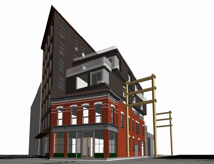 325 Carrall Street Gastown heritage restoration