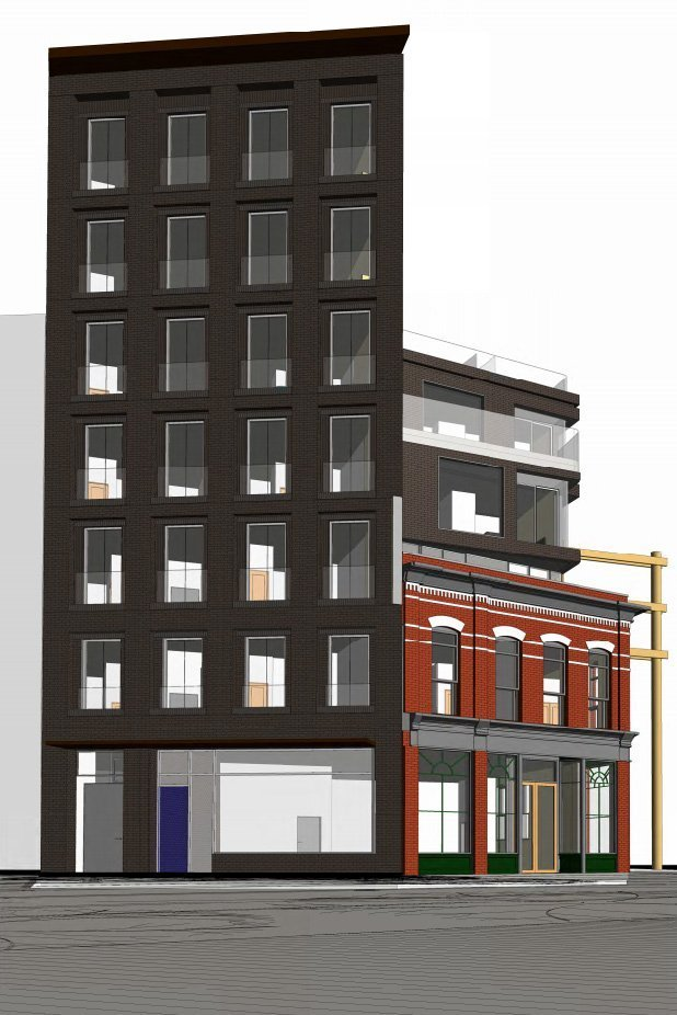 Gastown heritage building to be restored, new rental homes and retail added