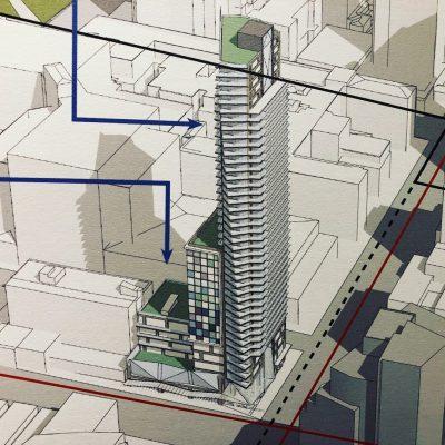 Davie and Burrard Prima Properties tower