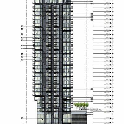 Burrard Place Tower C front