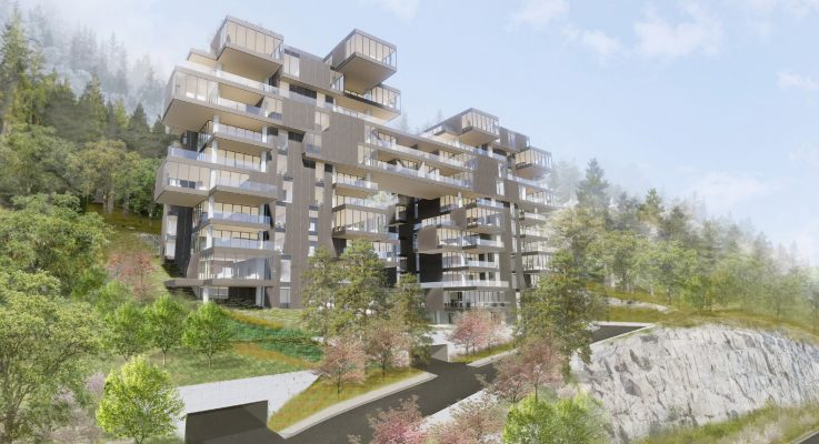 """""""Tree House"""" to be perched on slope of Cypress Mountain in West Vancouver"""