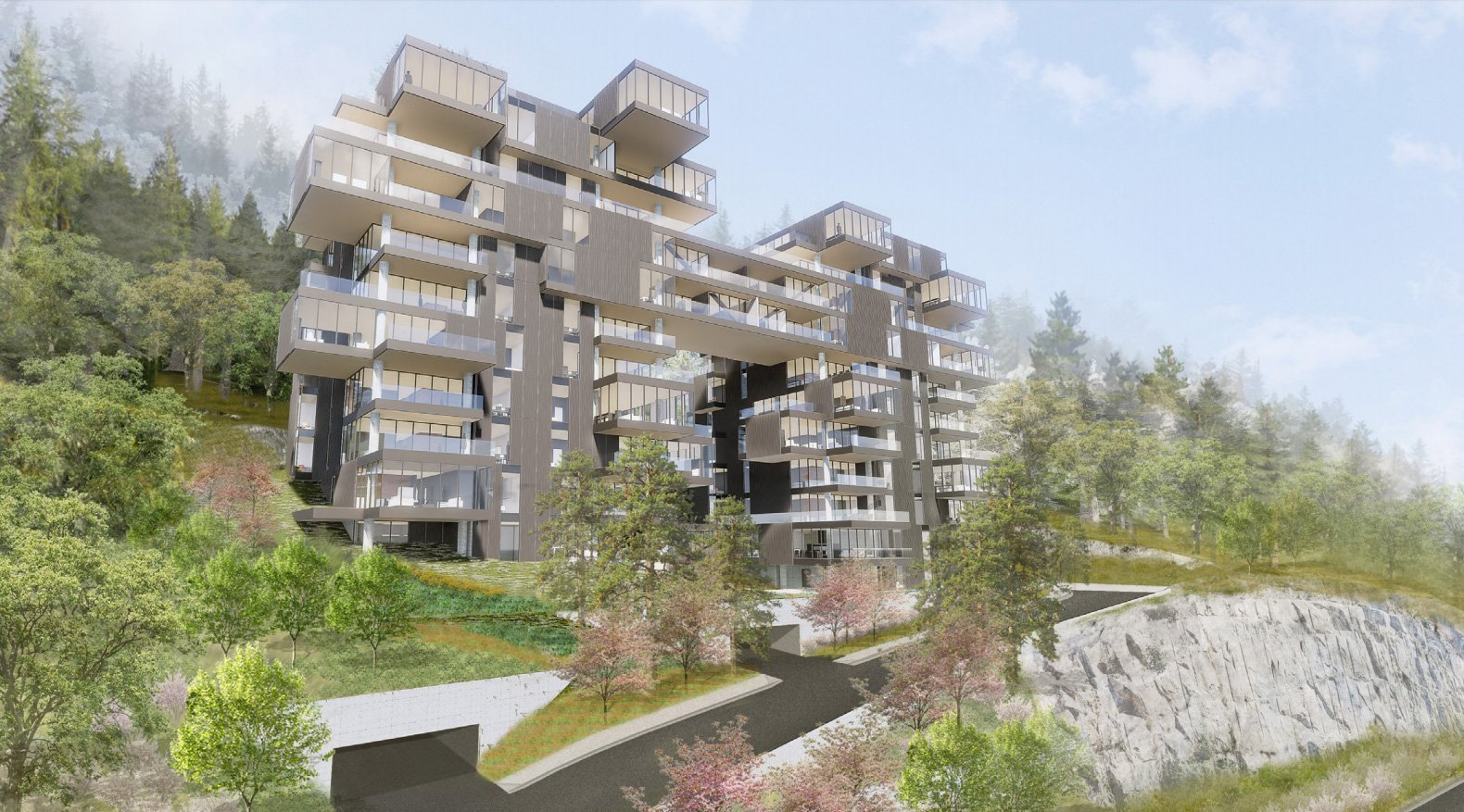 """Tree House"" to be perched on slope of Cypress Mountain in West Vancouver"