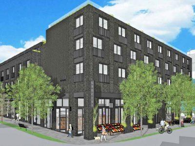 1134 East Georgia Street building rendering