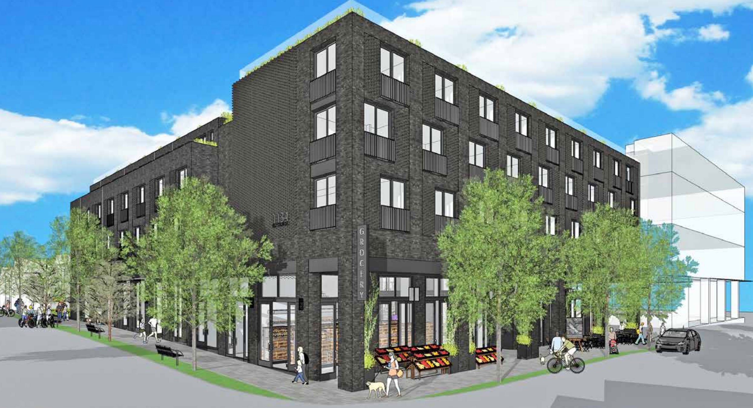 1134 East Georgia Street building rendering