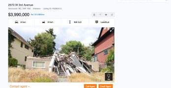 Kitsilano 'pile of rubble' for sale for nearly $4 million