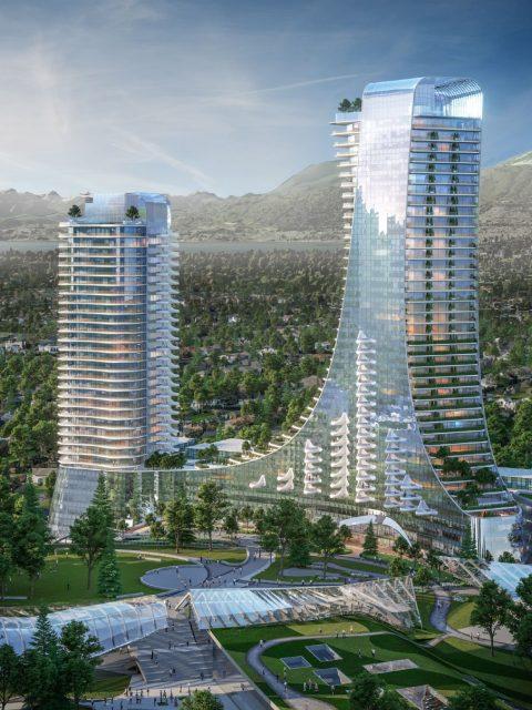 688 West 41st Avenue Oakridge towers mountains