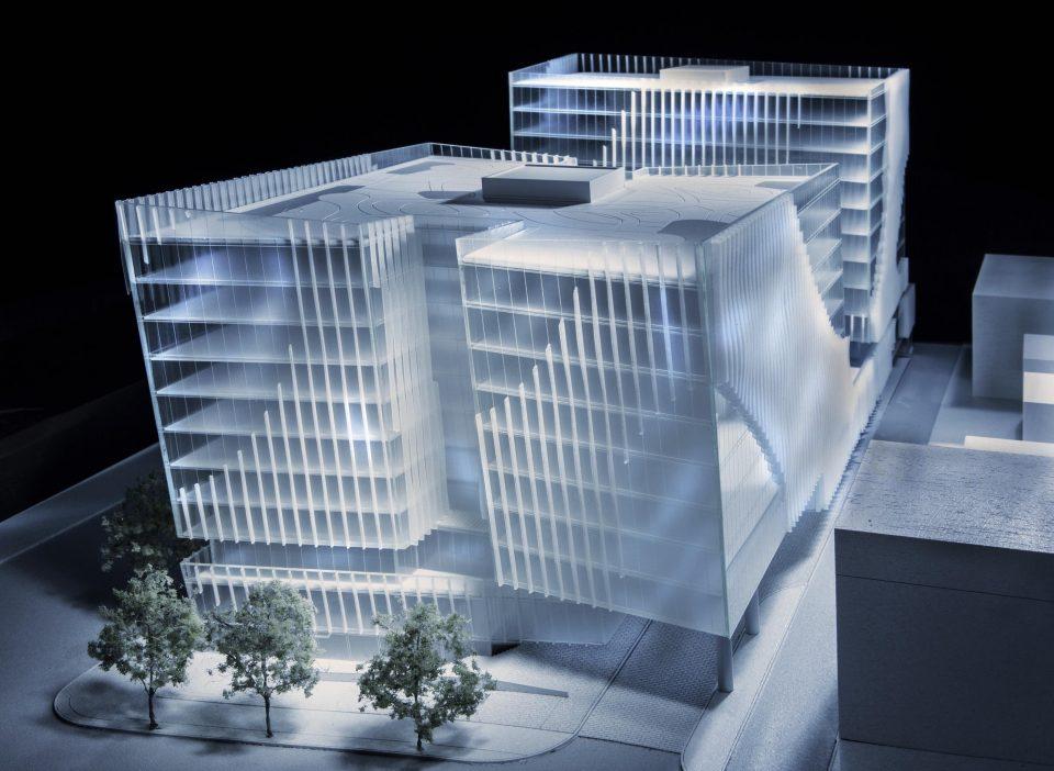888 West Broadway building model