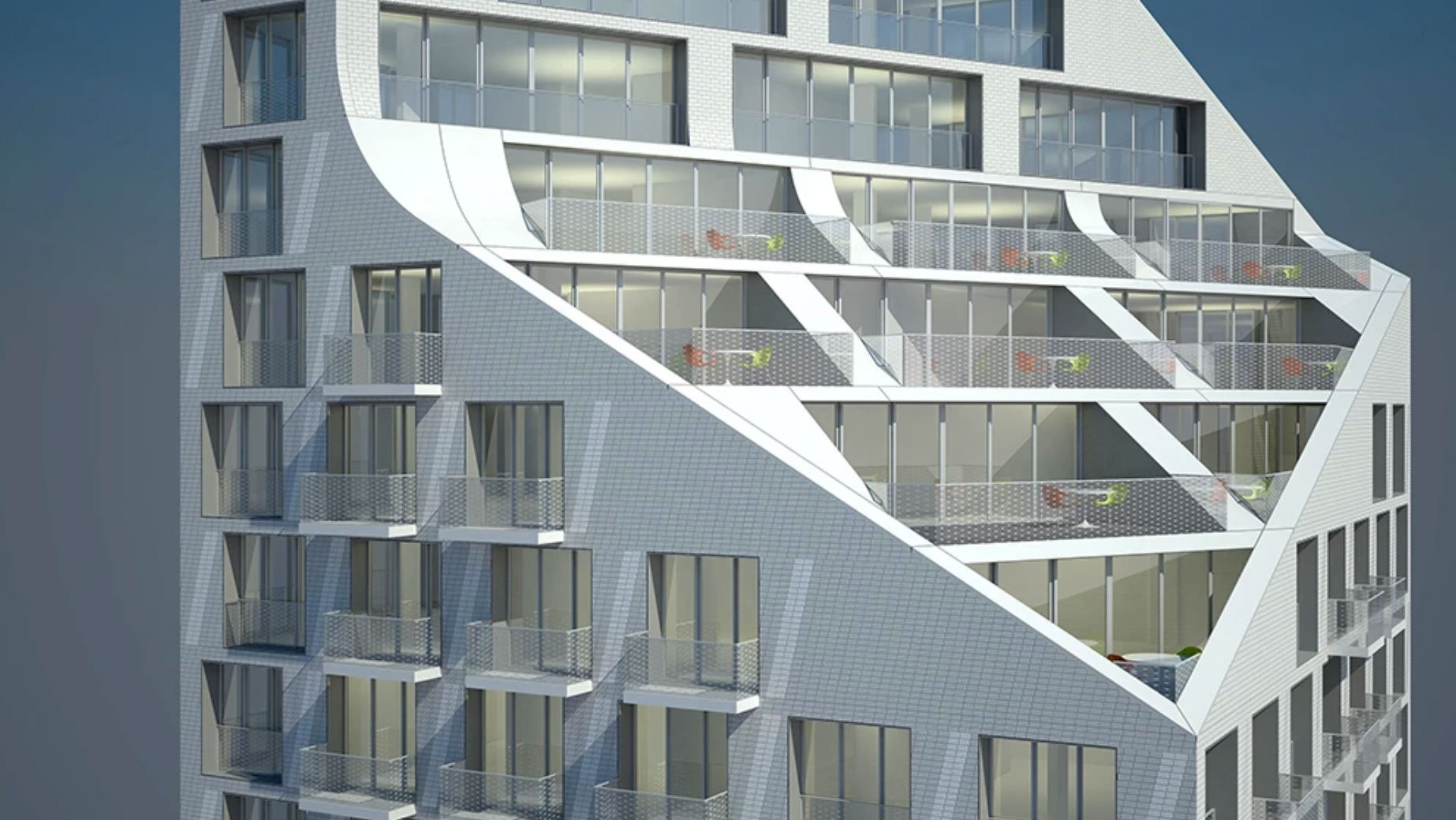 Striking tower at Davie and Hornby will add 158 rental homes to downtown Vancouver
