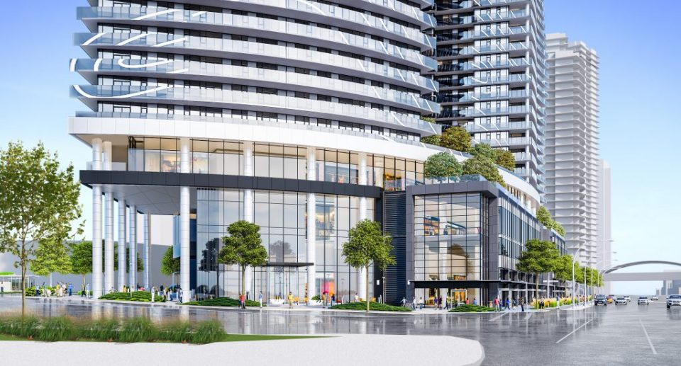 Metrotown Concord Pacific commercial rendering