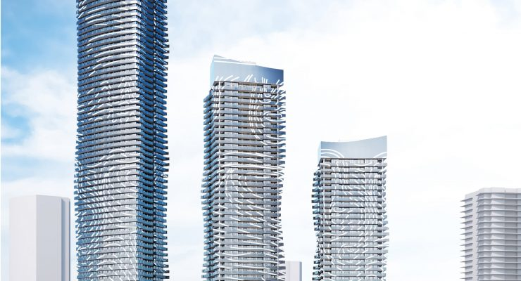 Metrotown Concord Pacific tower renderings