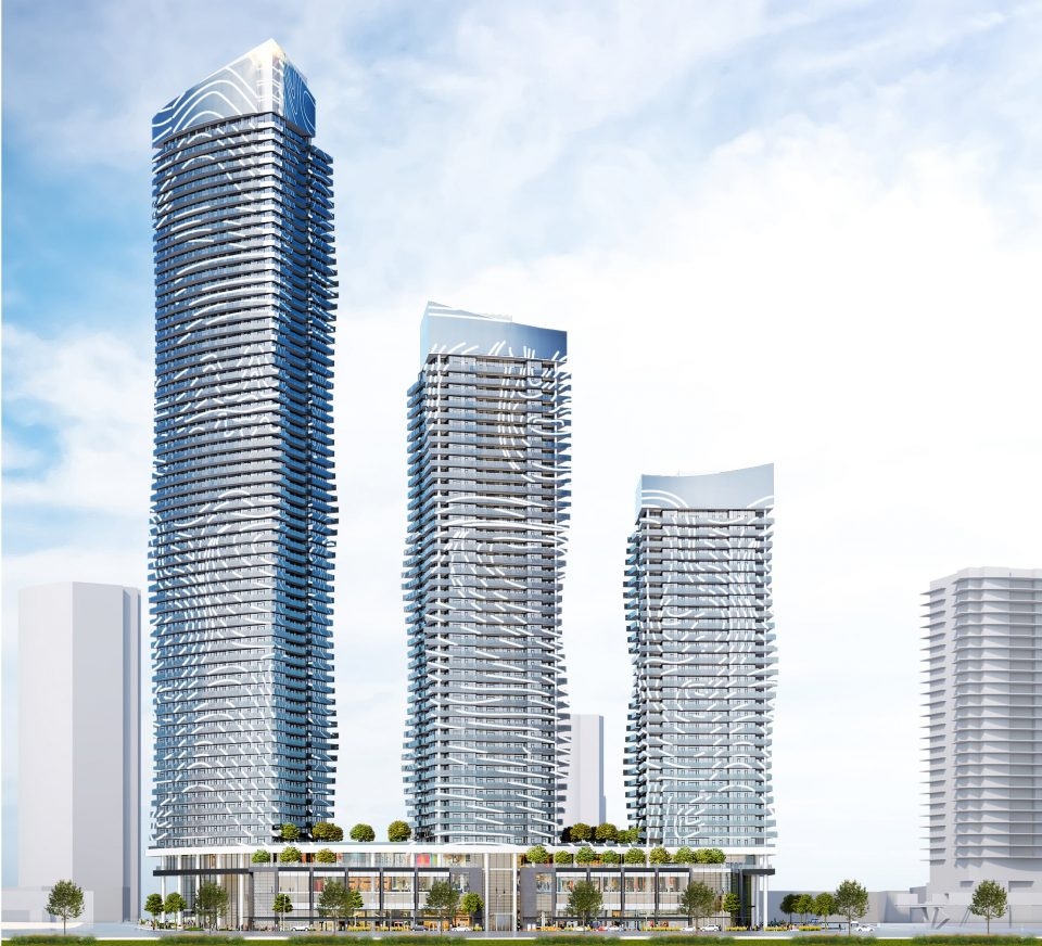 Metrotown Concord Pacific tower renderings