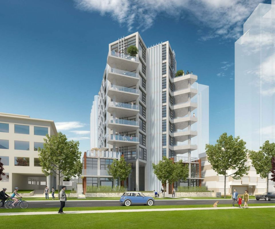 2030 Barclay Street Marcon West End condos