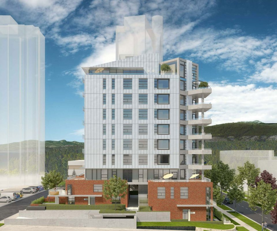 2030 Barclay Street Marcon West End condos rendering