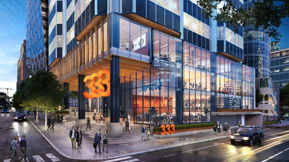 333 Seymour office building upgrades