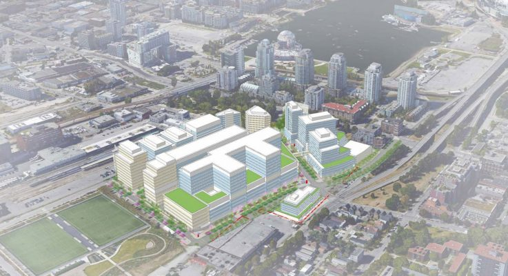 Plans for new St. Paul's Hospital in False Creek Flats revealed