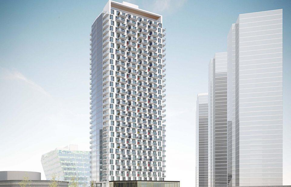 King George Hub phase 3 condo tower