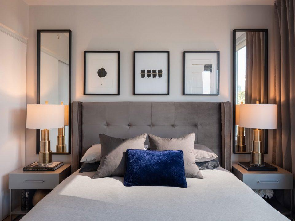 505 - 1495 Richards Street bedroom