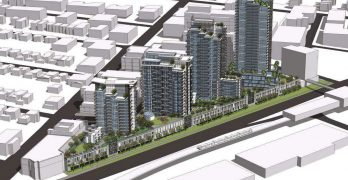 Wesgroup prepares to launch 32-storey tower at the Brewery District in New Westminster