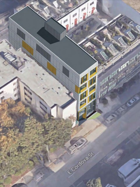 Two non-market housing buildings proposed for Downtown Eastside