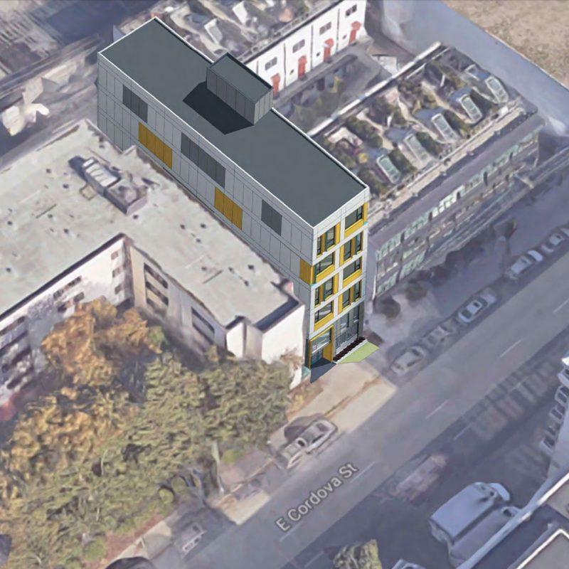 Downtown Eastside aerial