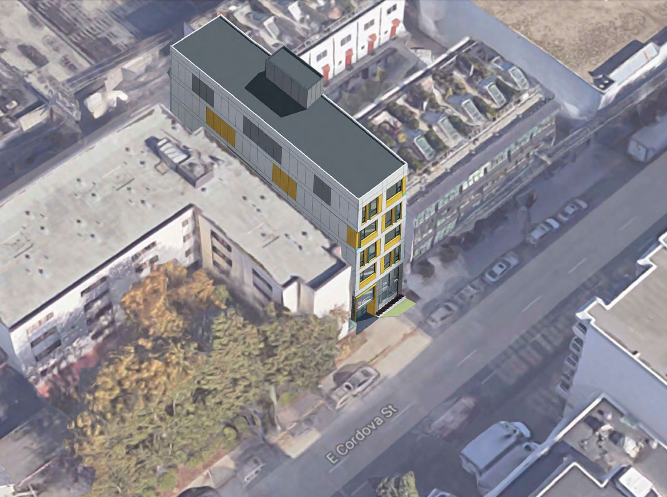 Downtown Eastside aerial