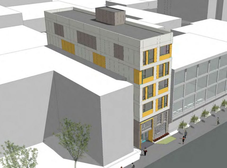 Downtown Eastside rendering