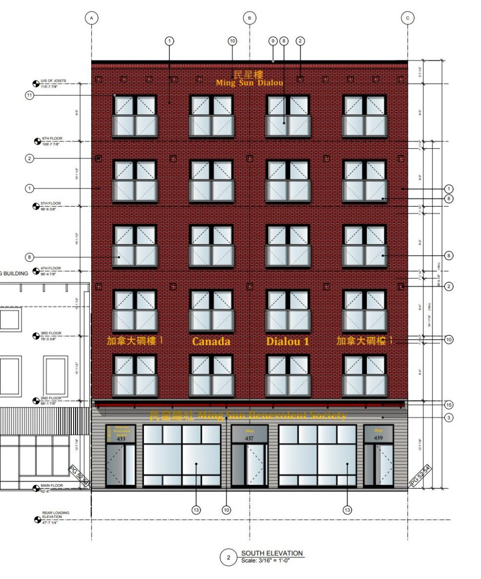 Downtown Eastside rendering non market