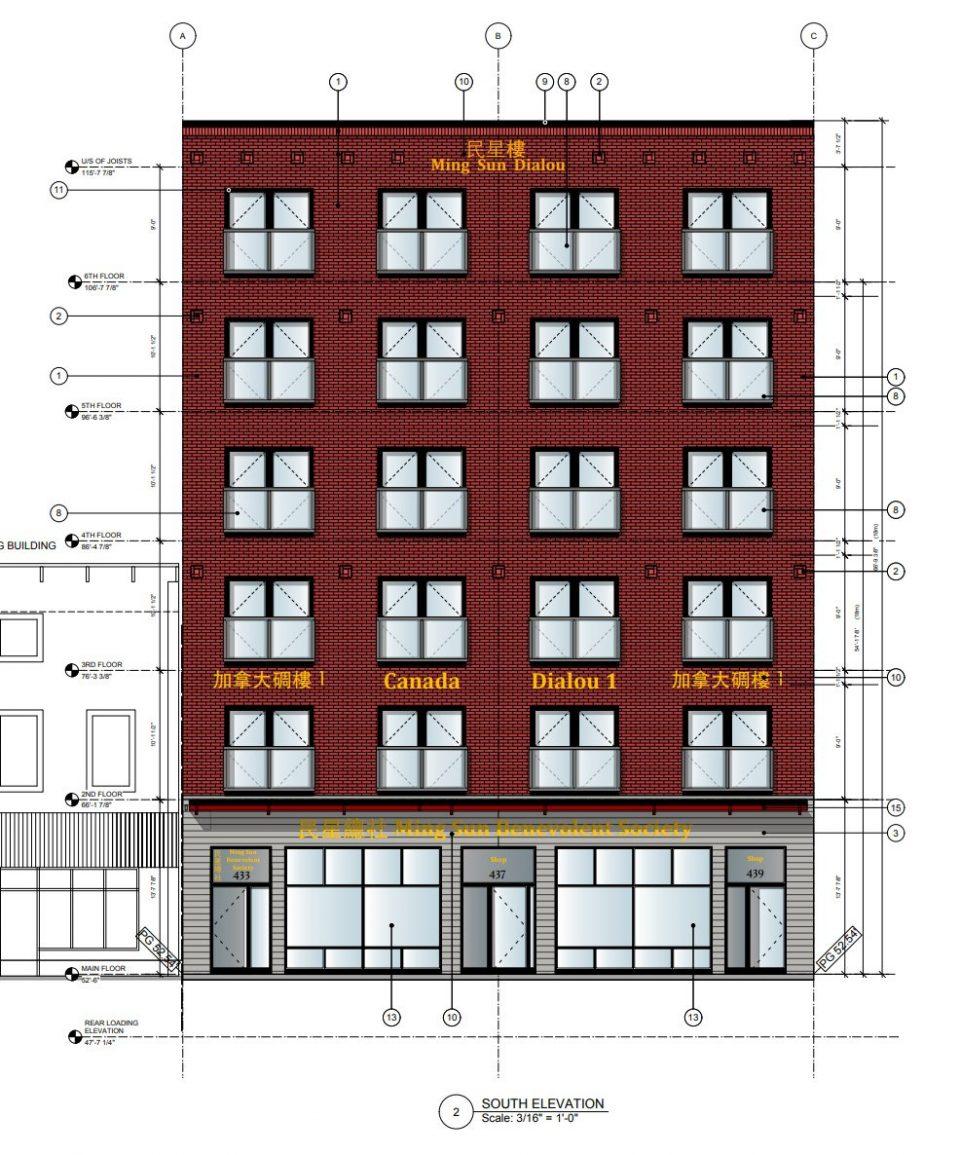Downtown Eastside rendering non market