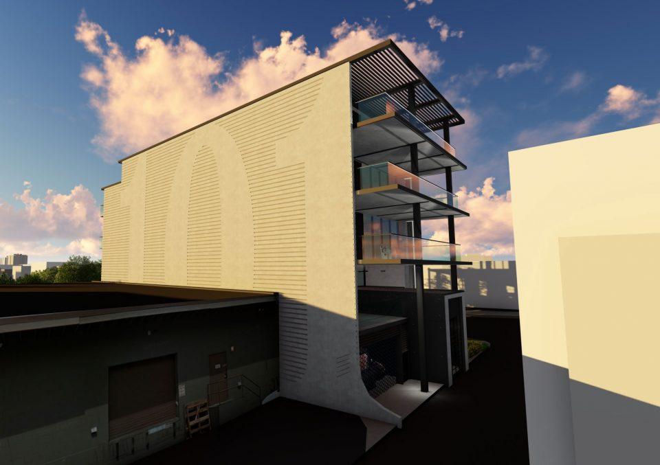 Building rendering - 2425 Manitoba Street