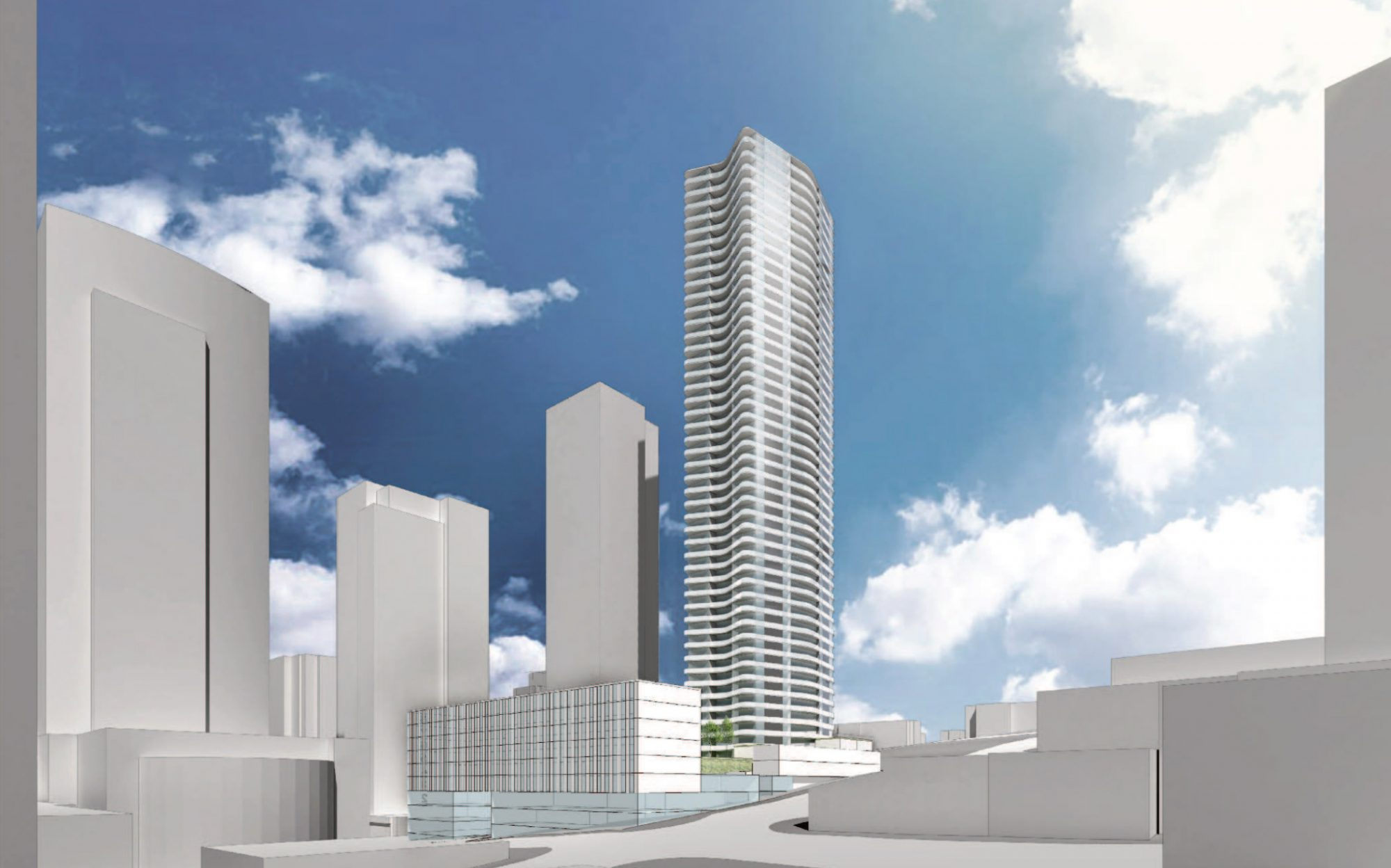 45-storey tower and hotel proposed for downtown New Westminster