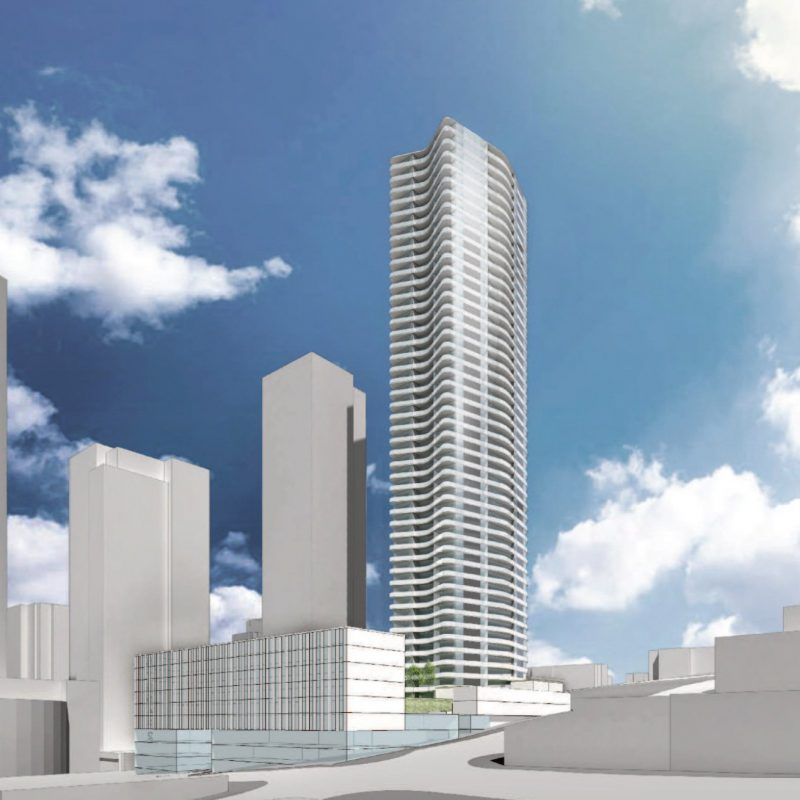 Reliance tower New Westminster