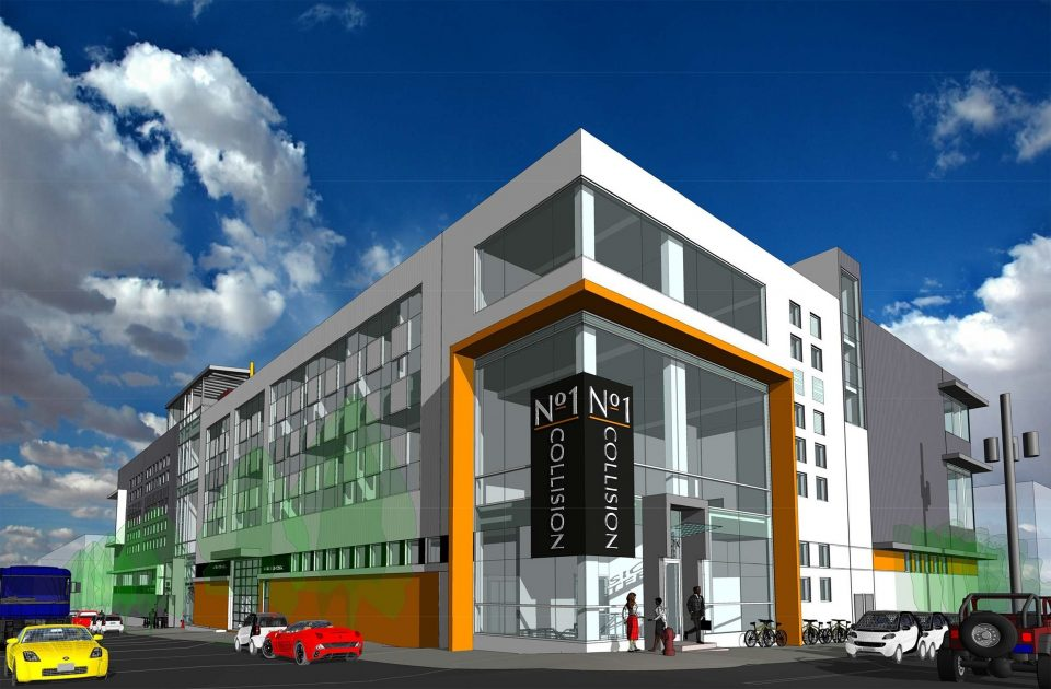 New home for No. 1 Collision Centre in the False Creek Flats