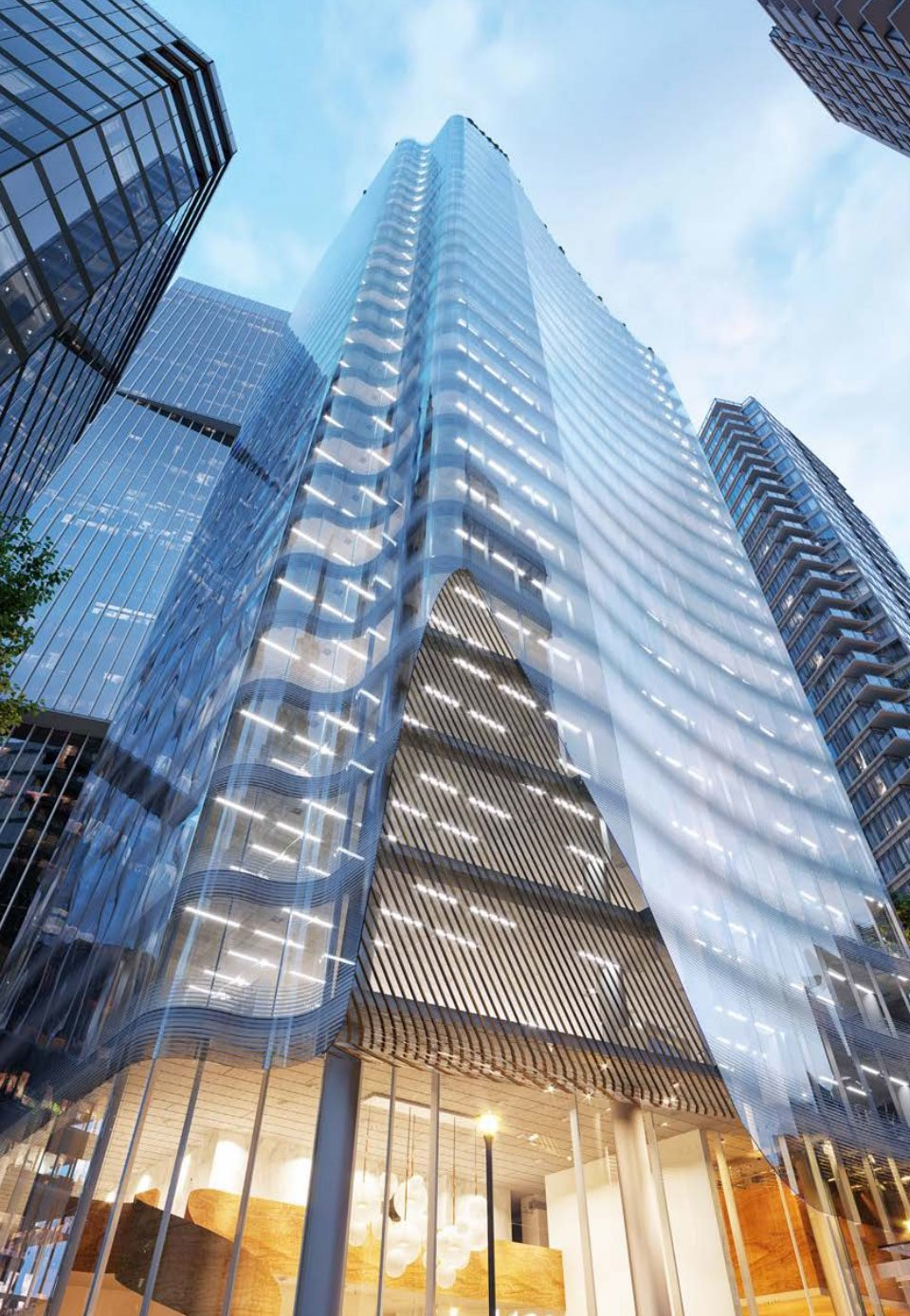 1166 West Pender tower form
