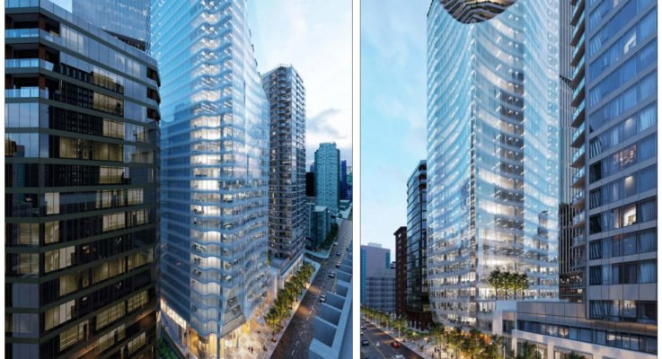 31-storey office tower proposed for 1166 West Pender Street