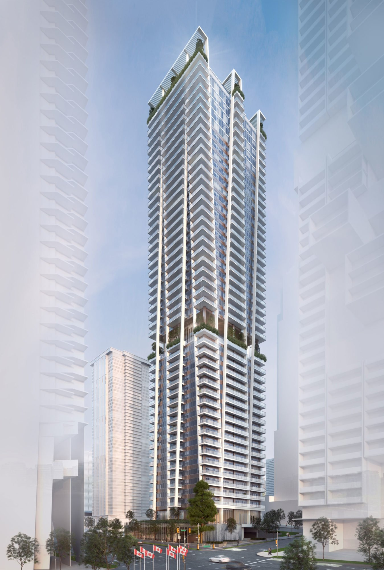 Georgian Towers rental apartments to be demolished, replaced with 49-storey rental and condo tower