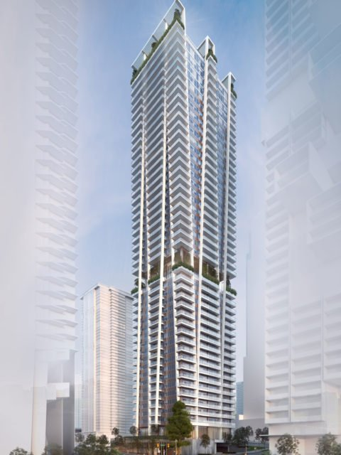 Tower rendering 1450 West Georgia