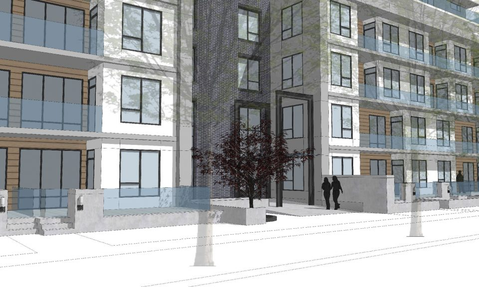 Aoyuan International plans six-storey condo building at Quebec and 33rd