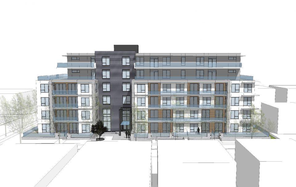 4906-4970 Quebec Street rendering head on