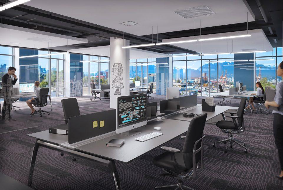 Alliance on Clark office interior