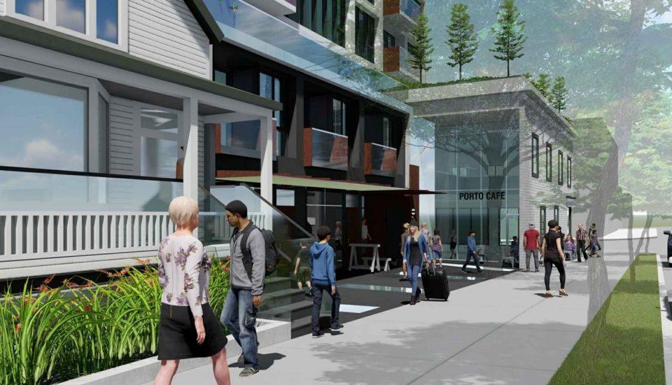 PortLiving Midtown Four rendering