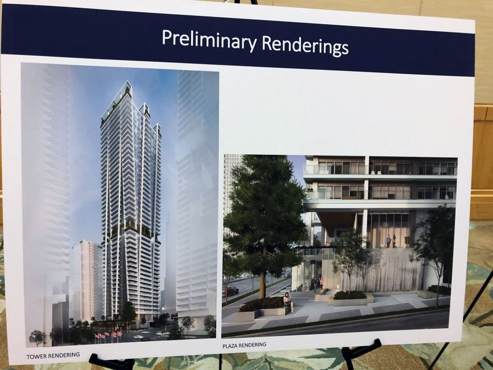 1450 West Georgia tower rendering
