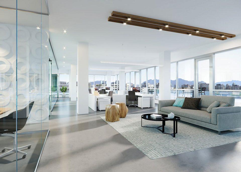 The Yukon Chard rendering office interior