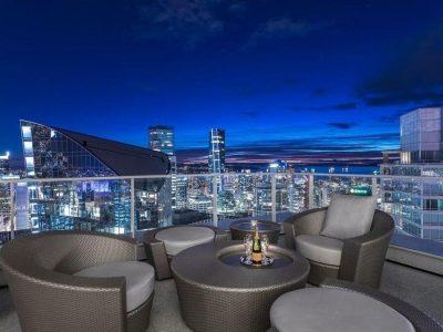 Fairmont Pacific Rim penthouse view