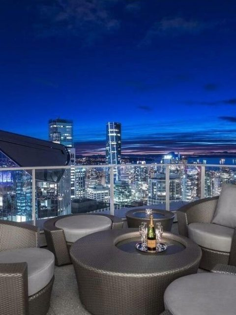 Fairmont Pacific Rim penthouse view