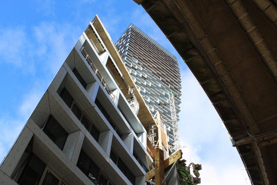 Vancouver House Westbank under bridge