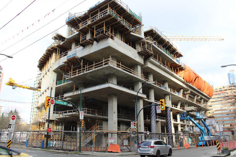 Burrard Place construction